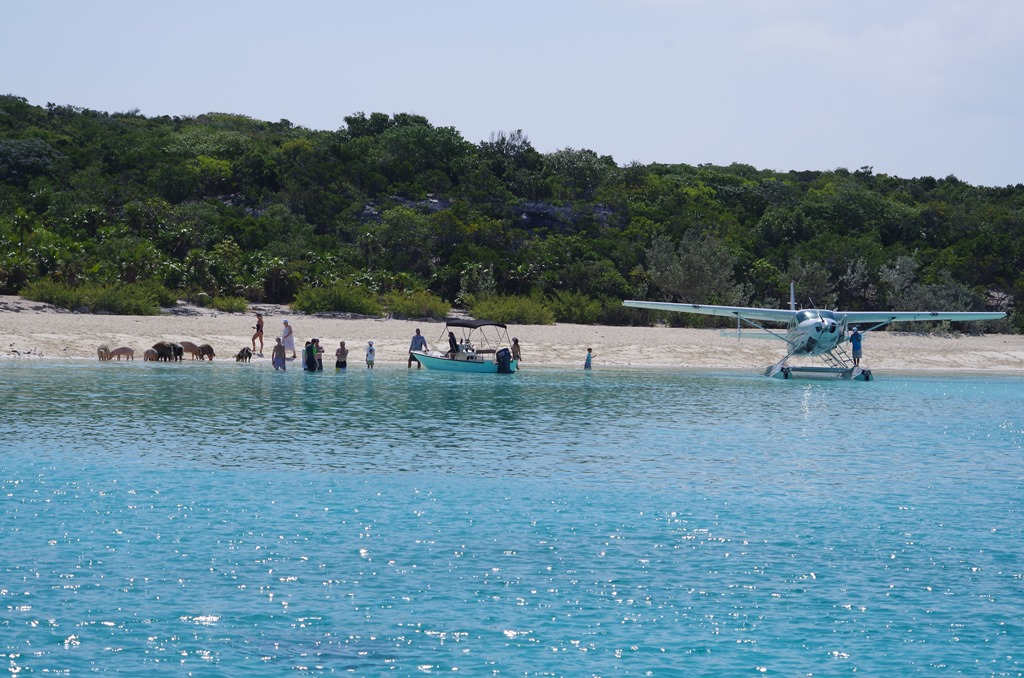 Staniel Cay to The Great Guana Cay and a short hop to Famers