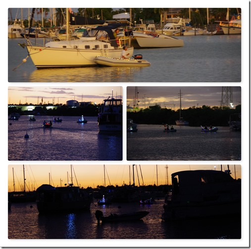 dinghychristmas Collage